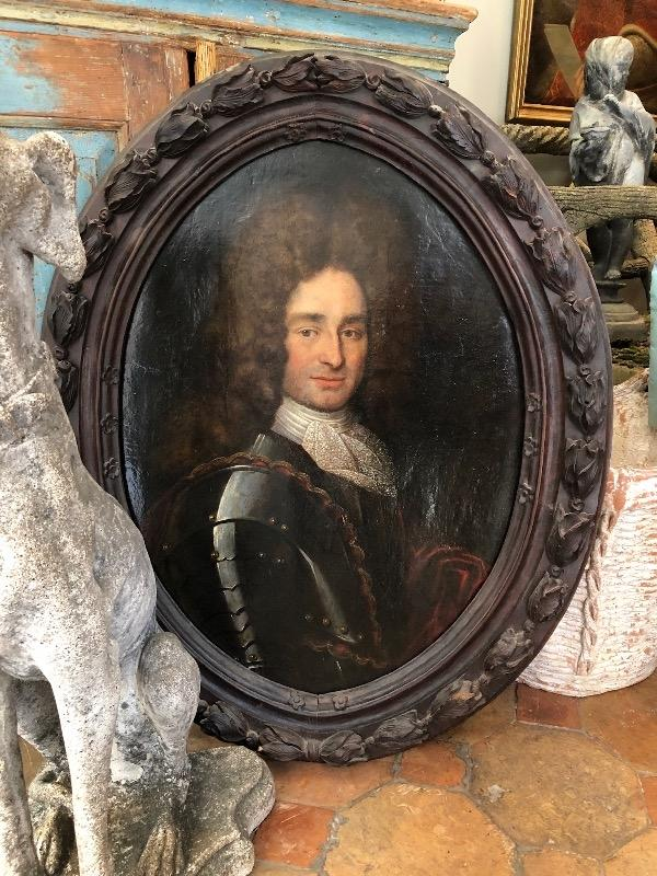 French Painting 18th c original frame