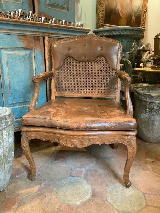 Large Louis XV period armchair